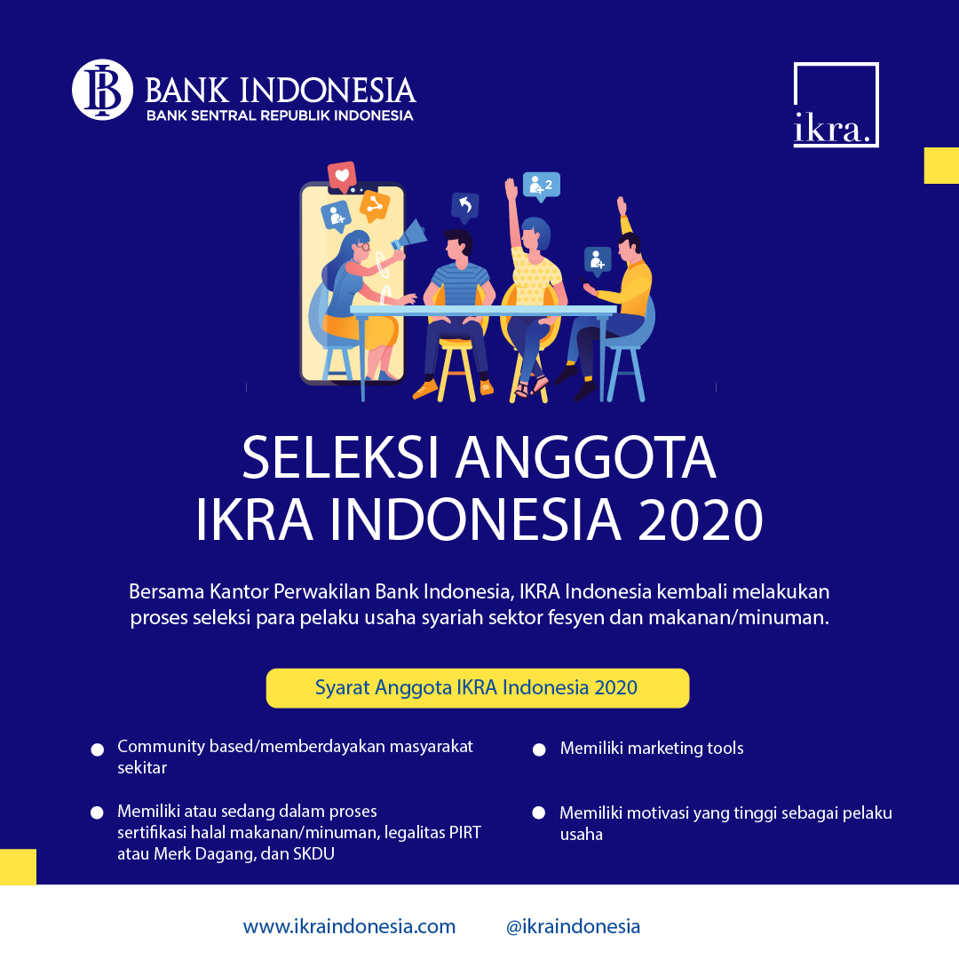 IKRA Indonesia Buka Seleksi Anggota Tahun 2020
